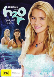 H2O: Just Add Water (Australian Season 3 DVD Cover, with Bella in foreground)