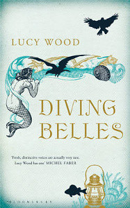 Diving Belles Cover - Mermaid and ocean illustration
