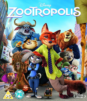 Zootropolis Bluray Cover