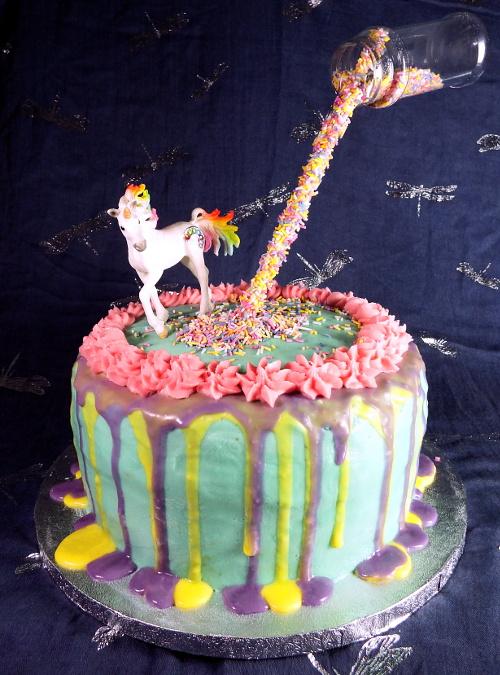 Anti-Gravity Cake